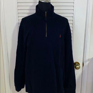 Polo By Ralph Lauren Mock Quarter Zip Up